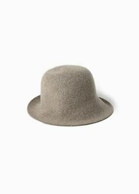100% WOOL BUCKET FEDORA HAT