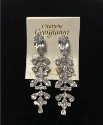 Designer Formal Swarovski Crystal Earrings