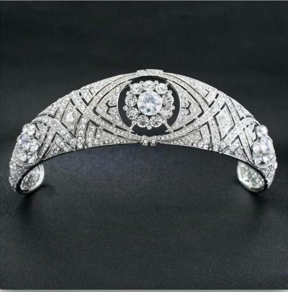 Royal Replica AAA Cubic Zirconia Tiara