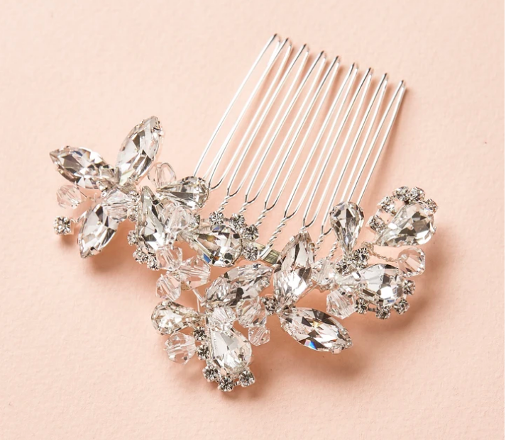 Classic Crystal Vintage Inspired Hair Comb