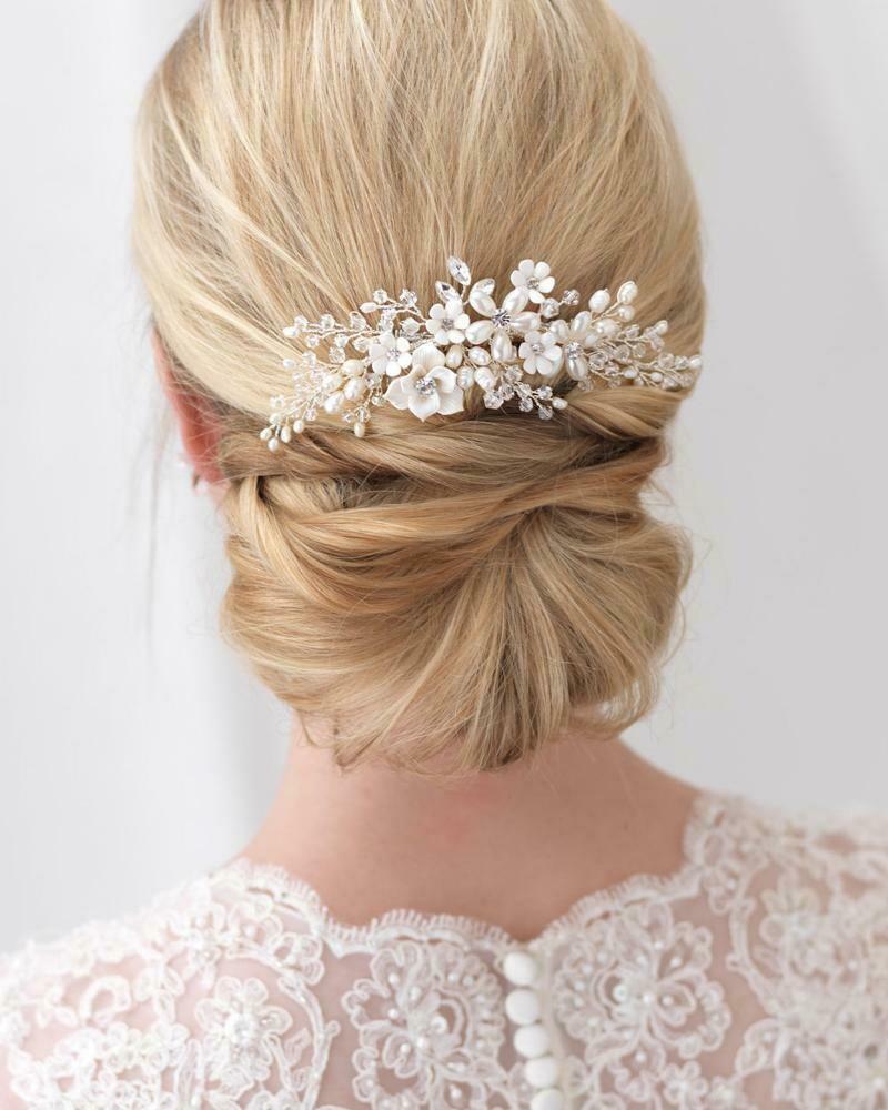 Pretty Bouquet Floral Comb