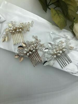 Swarovski Crystal / Pearl Petite Hair Comb