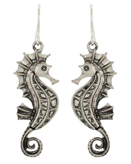 Sea Life Metal Dangle Earring Set