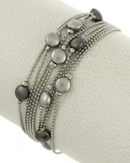 Multi Strand Metal Bracelet