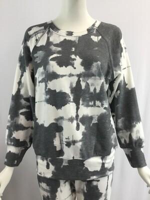 Nally & Millie Tie Dye French Terry Sweatshirt