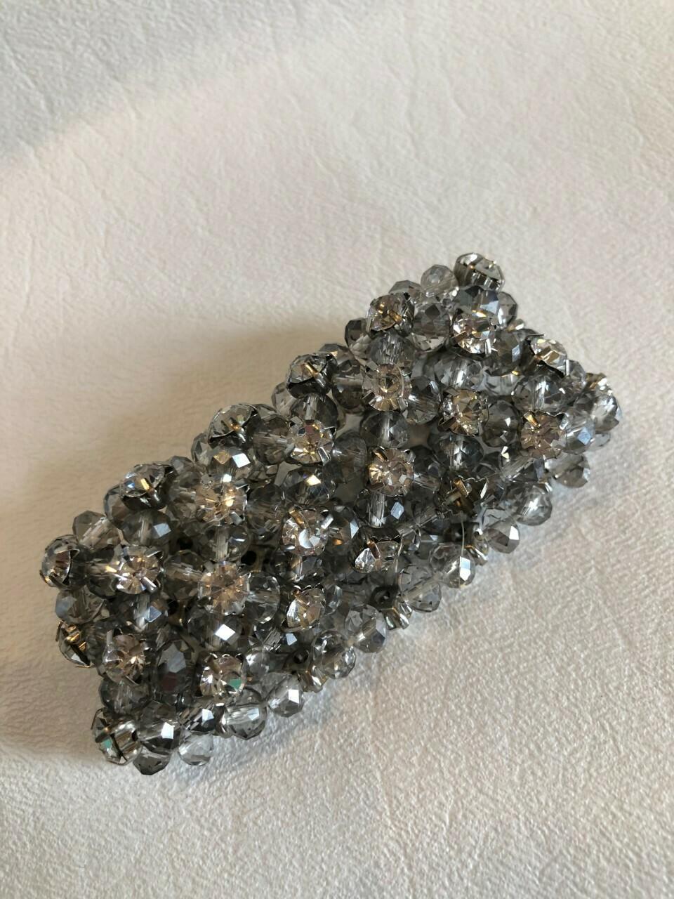 Crystal/Rhinestone Stretch Formal Bracelet