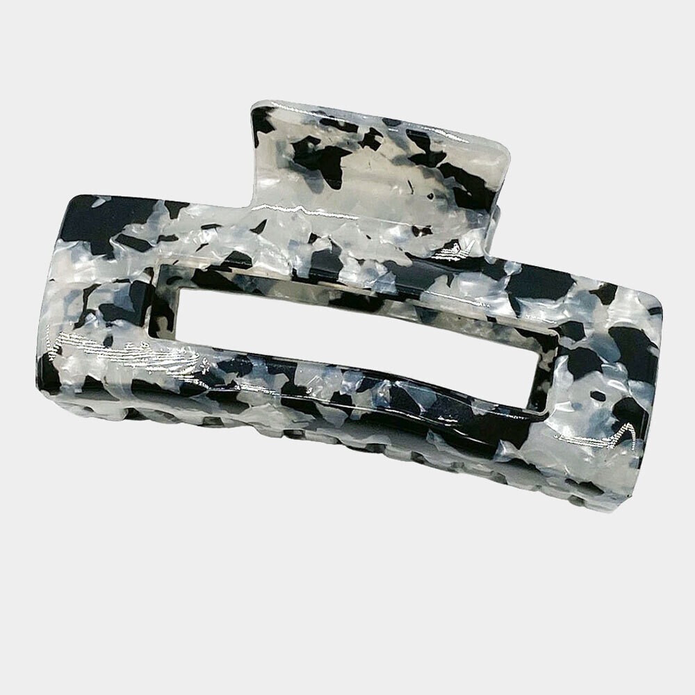 Cut Out Rectangle Hair Claw Clip
