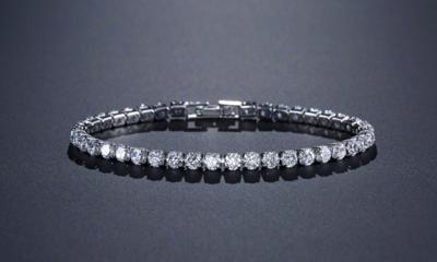 Traditional 4mm AAA Cubic Zirconia Tennis Bracelet