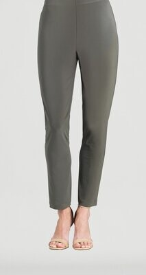 Olive Knit Straight Leg Pant
