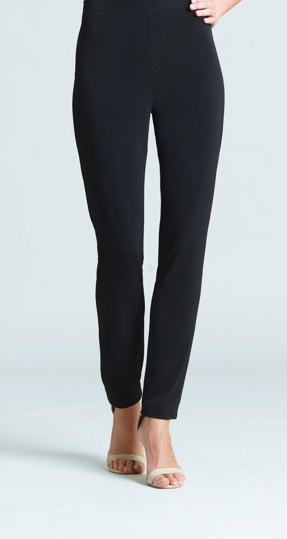 Black Clara Signature Straight Leg Pant