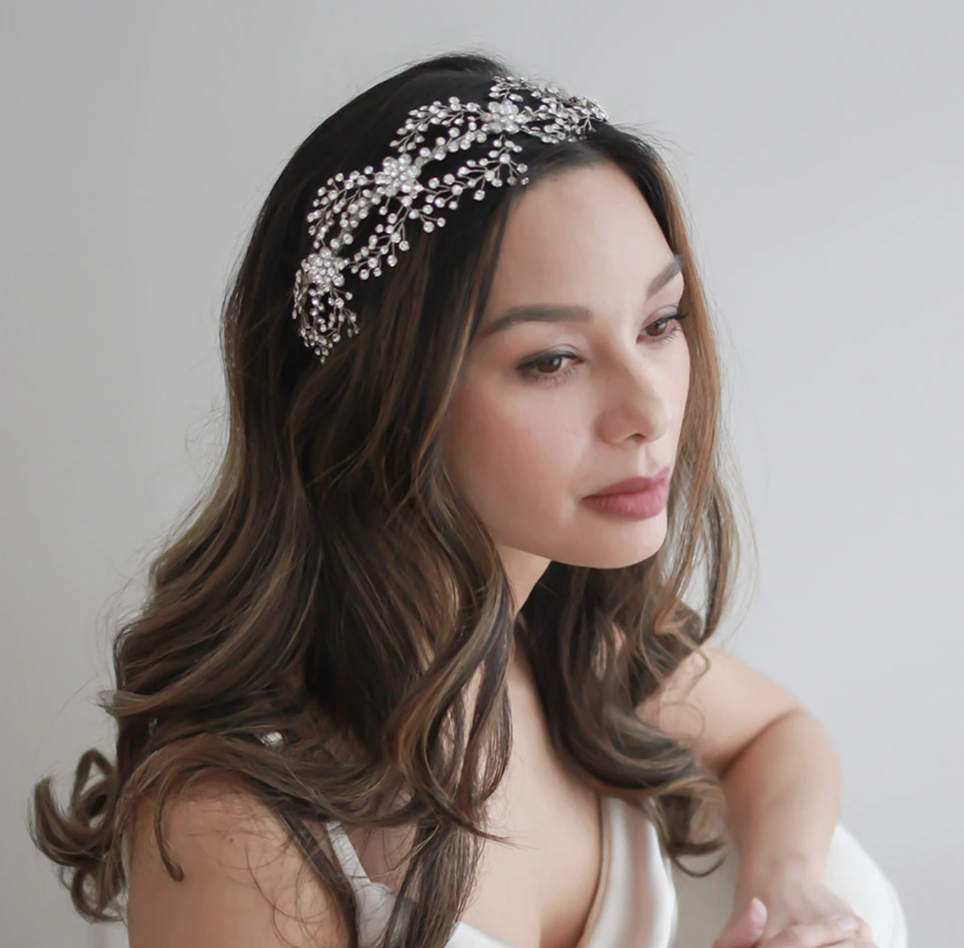 Breathtaking Botanical Floral Couture Headband