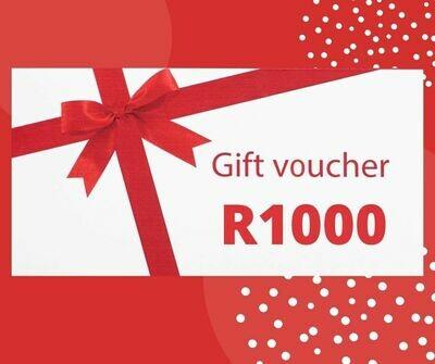 R1,000 Gift Voucher