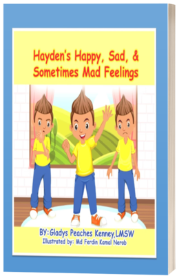 Hayden's Happy, Sad and Sometimes Mad Feelings Book