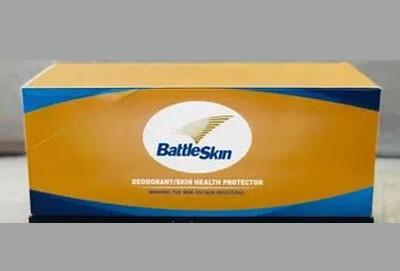 BattleSkin Antiseptic Soap (12 Pack) 00054