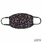 KIDS Reusable Red, White & Blue Floral