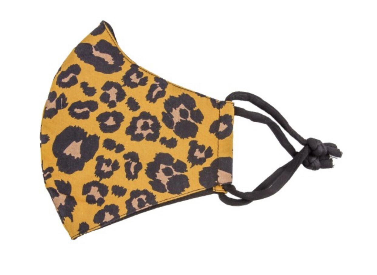 Reusable Leopard Print
