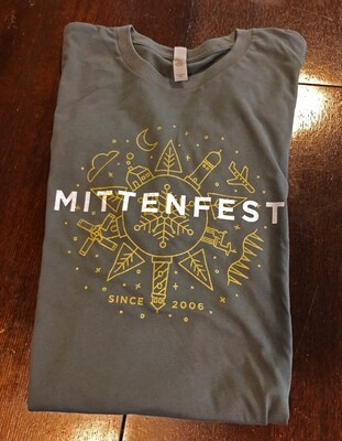 Mittenfest XI t-shirt (2016, grey)
