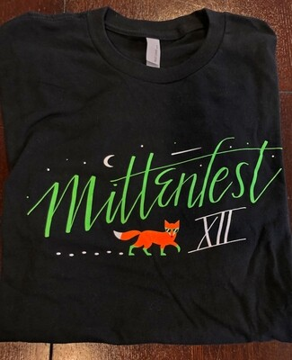 Mittenfest XII t-shirt (2017, black)