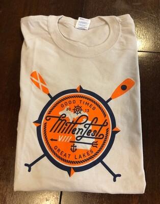 Mittenfest VIII t-shirt (2013, ecru)