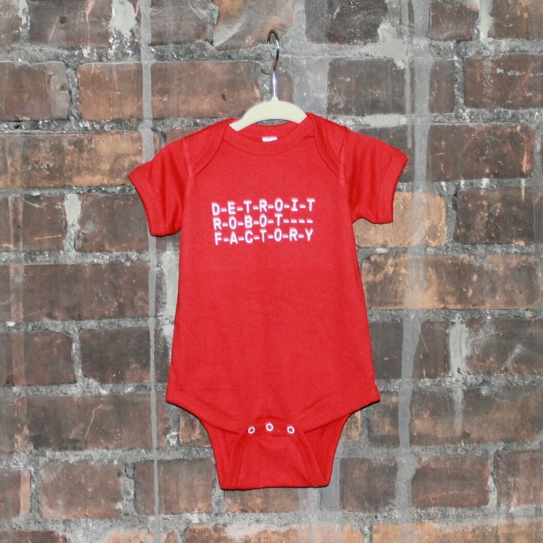 Onesie DRF Logo, Red