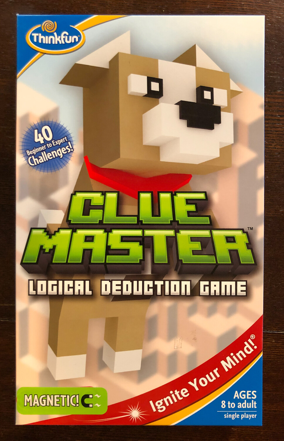 Clue Master Logical Deduction Game