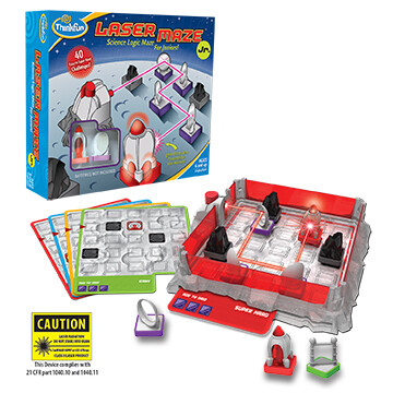 Laser Maze Jr. Science Logic Maze for Juniors