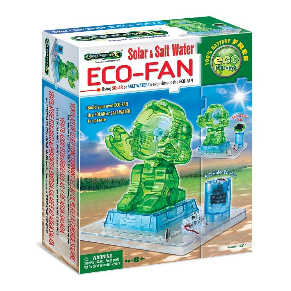 Eco-Fan Solar & Salt Water - GreeneX