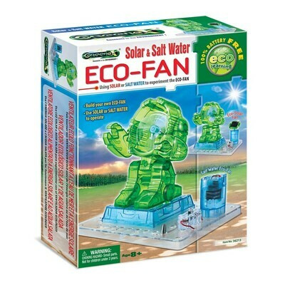 Eco-Fan Solar & Salt Water - GreeneX