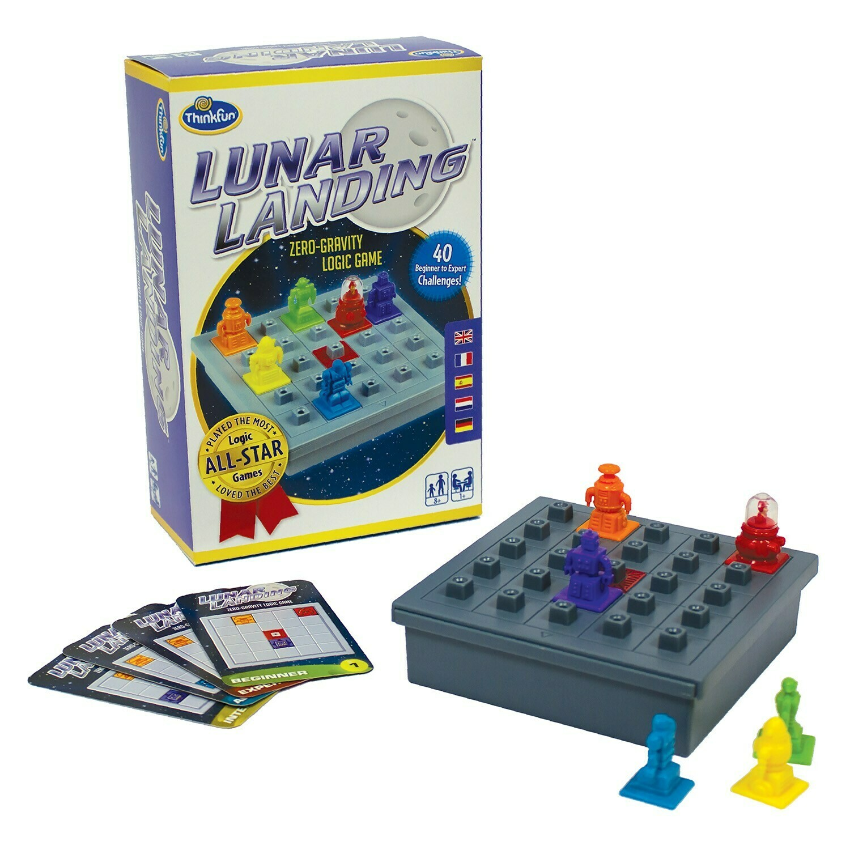 Lunar Landing - Zero Gravity Logic Game