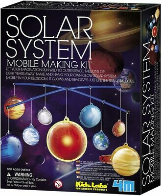 Solar System Mobile Making Kit - 4M