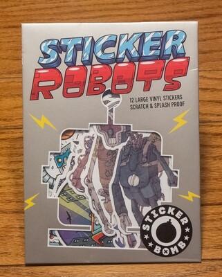 Sticker Robots - Sticker Bomb