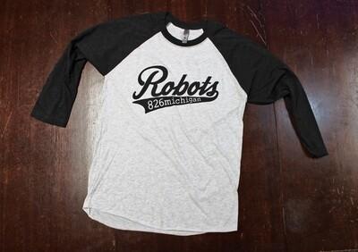 Robots Baseball 3/4 Sleeve Tee