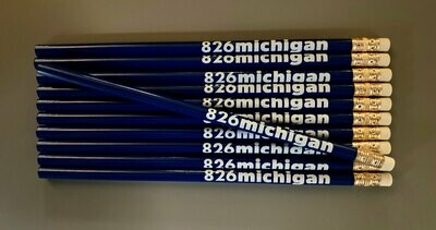 826michigan NEW logo blue pencil