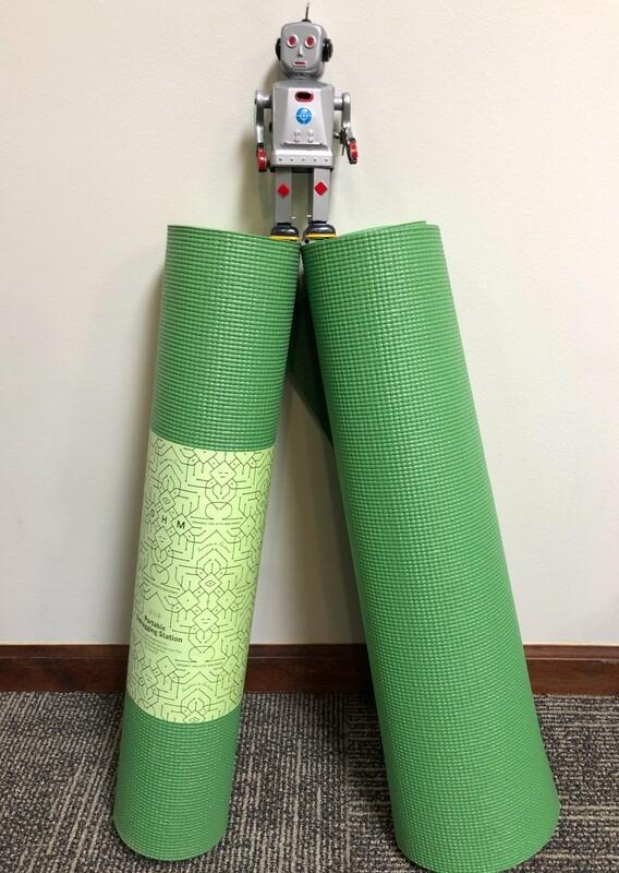 OHM - Portable Defragging Station - (Yoga Mat)