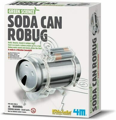 Soda Can Robug - Green Science 4M