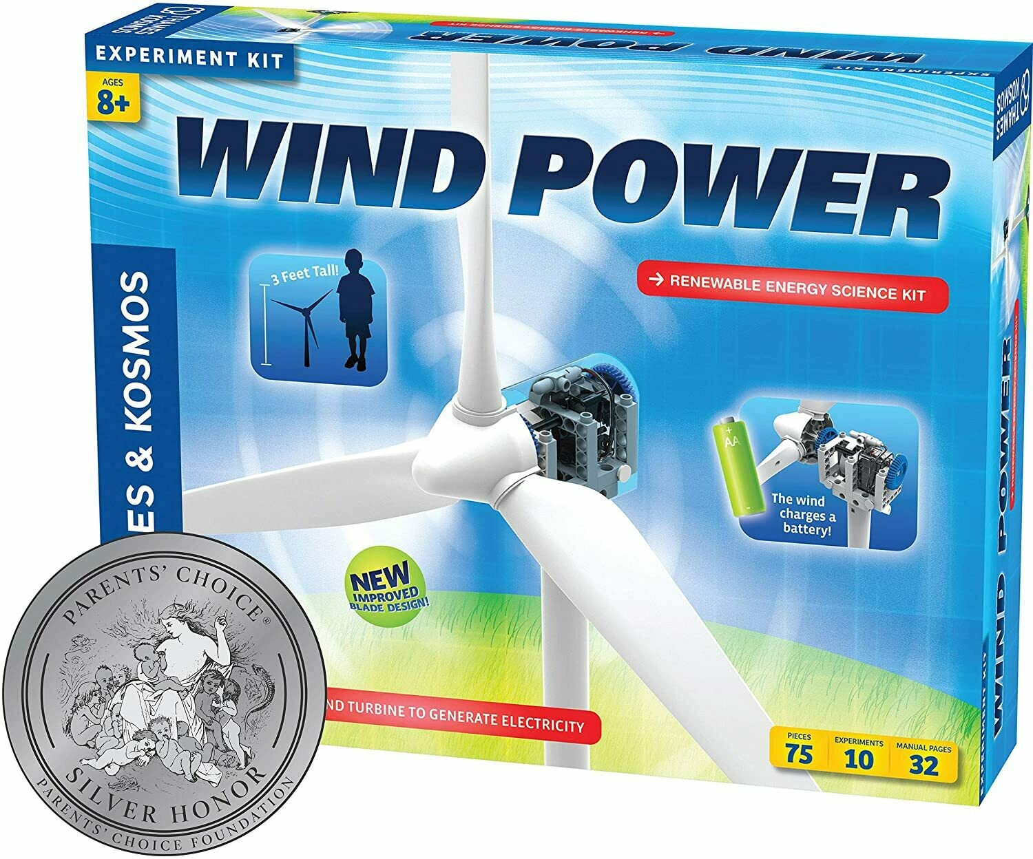 Wind Power - Experiment Kit - Thames & Kosmos