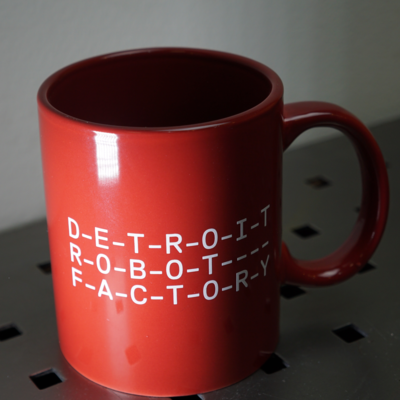 DRF Mug - Red w/ White