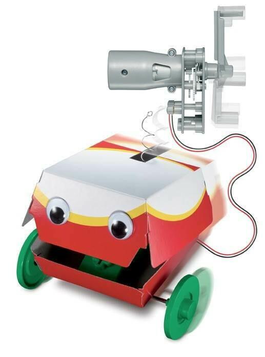 Dynamo Robot - Green Science - 4M