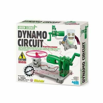 Dynamo Circuit Board Kit - Green Science - 4M