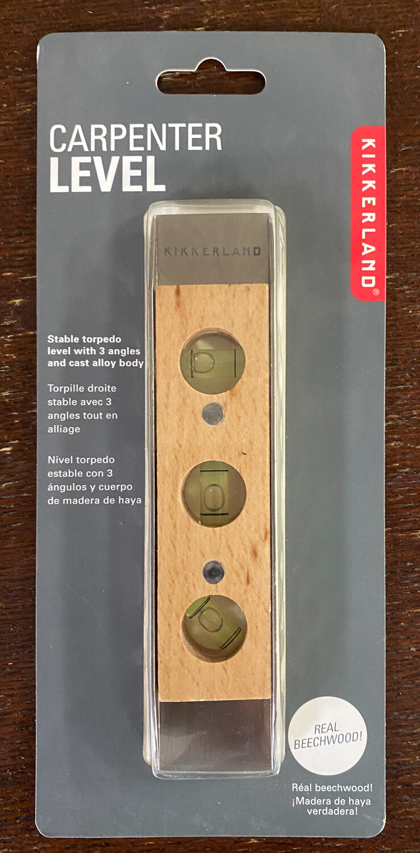 Carpenter Level - Wood