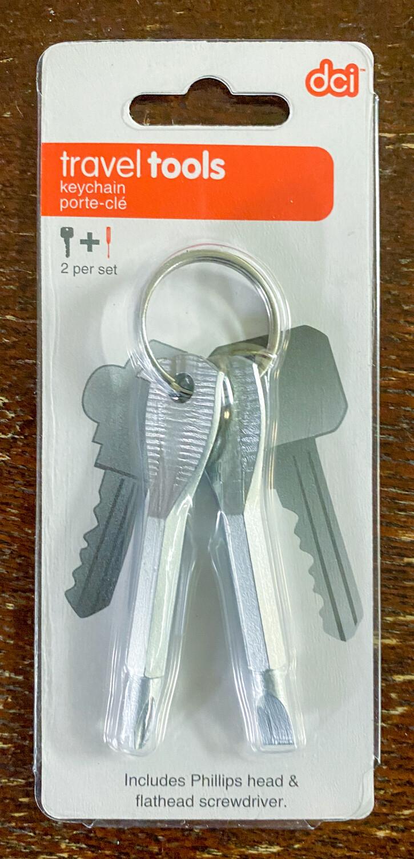 Travel Tools - Keychain - dci