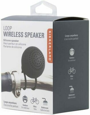 Loop Wireless Speaker - Kikkerland