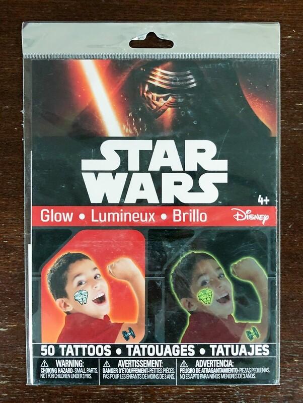 Star Wars - 50 Glow Tattoos