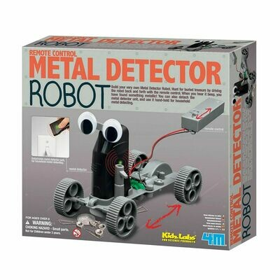 Metal Detector Robot - Remote Control - Kidz Labs - 4M