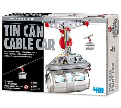 Tin Can Cable Car - 4M