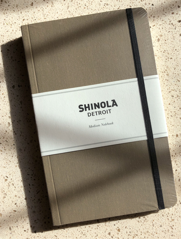 Shinola Detroit - Medium Lined Notebook
