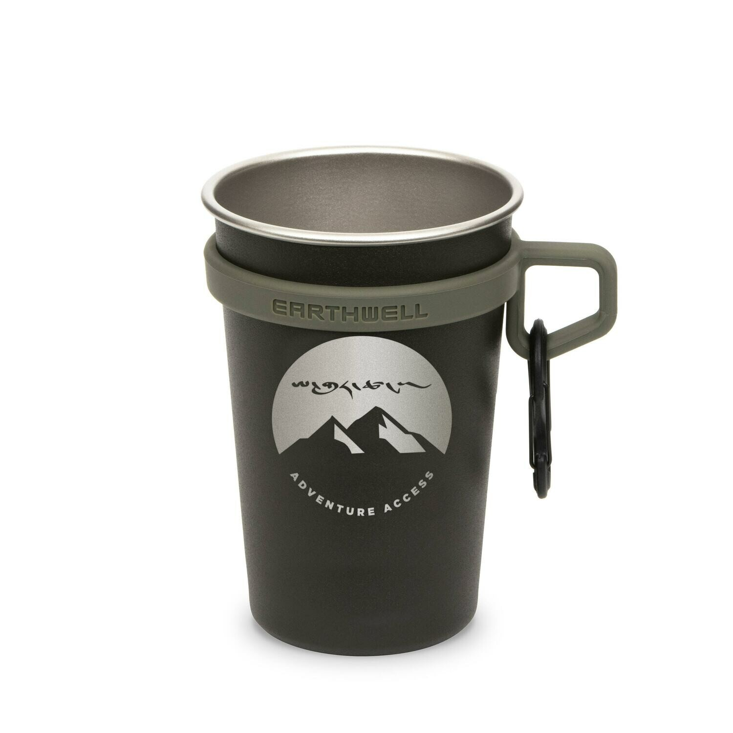 Earthwell 16oz LoopD™ Camp Cup - Tent Life Collab