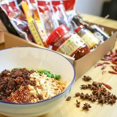 Lost Plate Sichuan Recipe Box