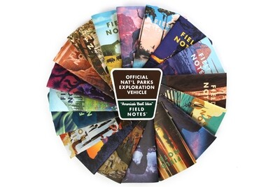 Field Notes National Parks - 3 Pack