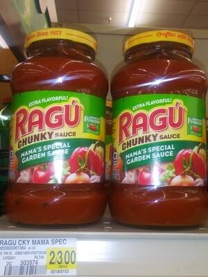 Cash Saver: Ragu Chunky Sauce Mama's Special Garden Sauce 24oz